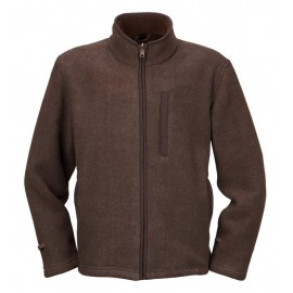 CHAQUETA POLAR FALCON MID BROWN