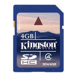 TARJETA SD de 4GB.