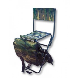 Silla DINGO Con mochila.Camo.31x23x43cm