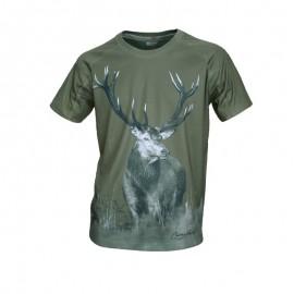 Camiseta Ciervo manga corta