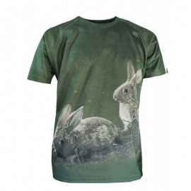Camiseta Conejo manga corta