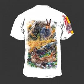 Camiseta Conejo blanca