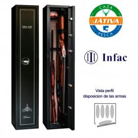 Armero INFAC HC5 para 5 armas largas