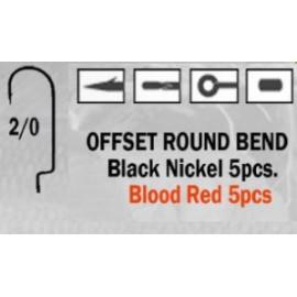 Anzuelo recto Offset Round Bend 2/0