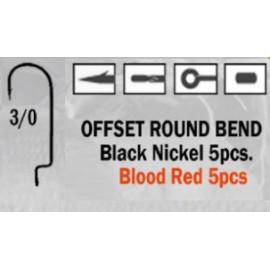 Anzuelo recto Offset Round Bend 3/0