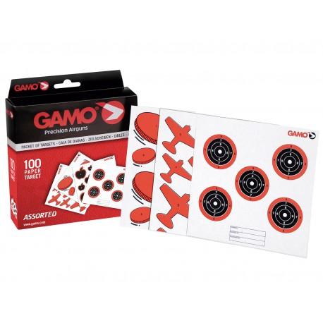 Caja 100 dianas variadas Gamo