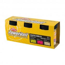 Berkley PowerBait® ChromaGlow Crappie Nibble Asst