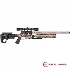 Carabina PCP KRAL Puncher Jumbo Dazzle Camo 5,5 mm - 24 Julios