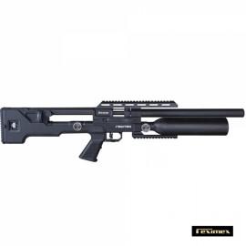 Carabina PCP Reximex Throne calibre 5,5 mm. Sintética Negro. 24 julios.