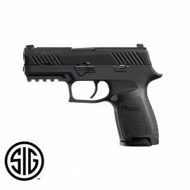 Pistola Sig Sauer-VFC Airsoft ProForce P320-M18 Negro Gas 6mm.