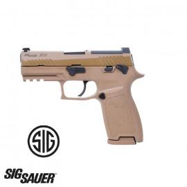 Pistola Sig Sauer-VFC Airsoft ProForce P320-M18 Coyote Gas 6mm.