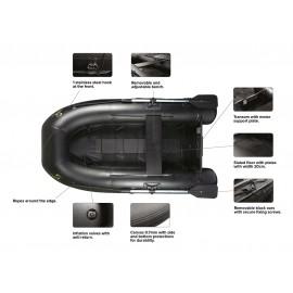 BLACK BOAT ONE 230