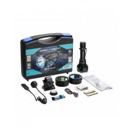 Kit Linterna WARRIOR-X Turbo 1100LUM.