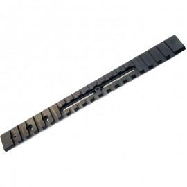 Carril weaver LEUPOLD para bases QR - 22 cm.