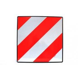 Placa de señalización homologada