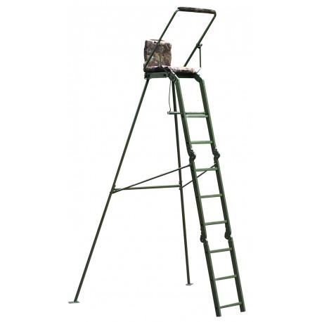 Puesto de caza elevado árbol portátil 2.7 m