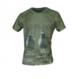 Camiseta Perdices manga corta