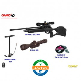 Pack PCP GAMO GX-40