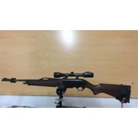 Rifle Winchester 300 con visor Bushnell 3-6x42