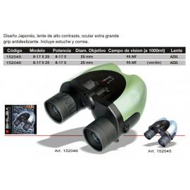 Prismáticos Shilba 8-17x25 Compact Zoom Azul