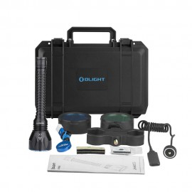 KIT Caza Linterna Olight JAVELOT PRO 2100 Lúmenes recargable