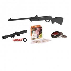 Pack Carabina Gamo Delta + Visor Gamo 4X20 TVWA-N + Dianas + Plomos