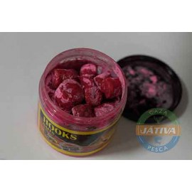 Hook Pellets Banana Strawberry Powder Dip Poisson Fenag