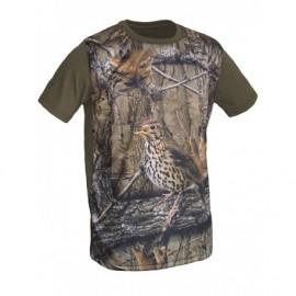 Camiseta poliéster algodón Zorzal