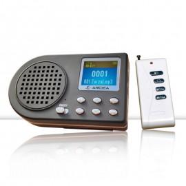 Reproductor de cantos mp3 ZESS con mando