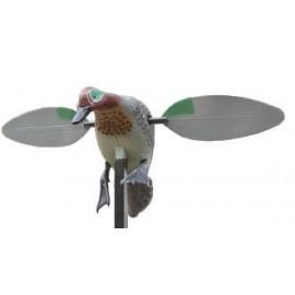 Reclamo Alas Rotativas Electricas Pato Verde Azulado STEPLAND