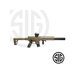 Subfusil Sig Sauer MCX ASP FDE + Red Dot Co2