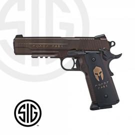 Pistola Sig Sauer Spartan CO2 - 4,5 mm BBs Acero
