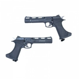 Pistola Zasdar CP400 Co2 multi-tiro cal. 4,5 mm Balines