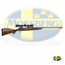Mossberg 4x4 Rifle Cerrojo + Visor 30.06 Madera con freno de boca