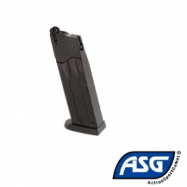 Cargador para Mk23 cap. 28 tiros - 6 mm Gas Referencia: ASG14765