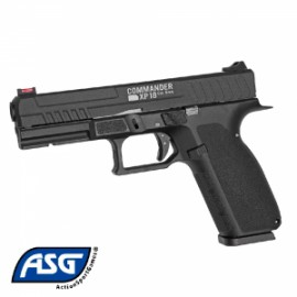 Pistola ASG Commander XP18 Negro - 6 mm Co2 - 0,9 Julios