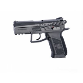 Pistola CZ75 P-07 Duty Negra corredera metalica - 6 mm Co2