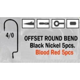 Anzuelo recto Offset Round Bend 4/0