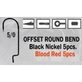 Anzuelo recto Offset Round Bend 5/0