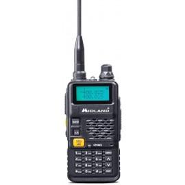 CB Radio VHF/UHF portátil Midland CT590S de Doble