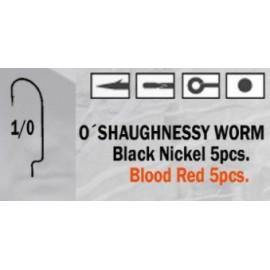 Anzuelo recto O'Shaughnessy Worm 2/0