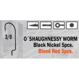 Anzuelo recto O'Shaughnessy Worm 3/0
