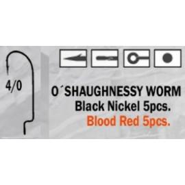 Anzuelo recto O'Shaughnessy Worm 4/0